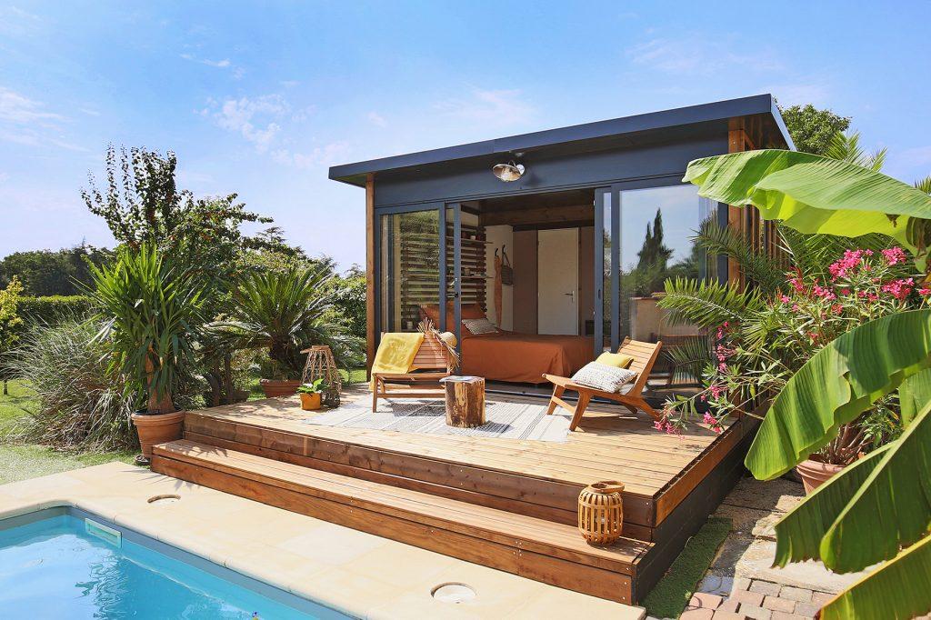 Tiny Home studio de jardin sans fondation sans permis